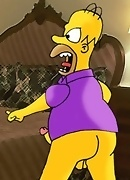 The Simpsons decide to share some photos from their secret family album