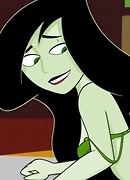 Shego with muzzle slams Ron&#039;s great cock before gets nailed